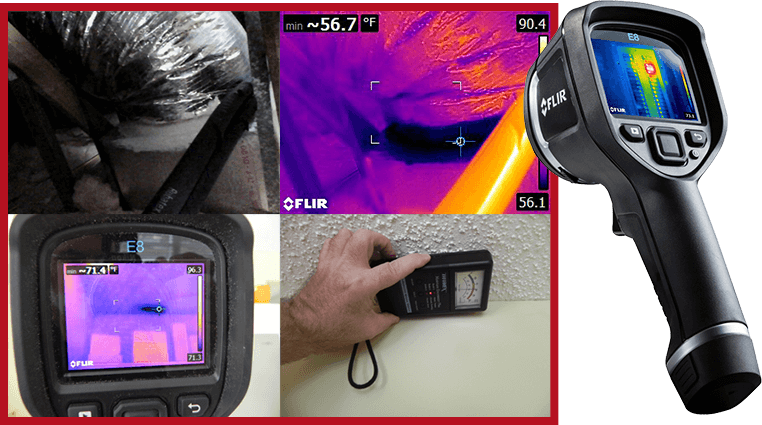 Inspection with Infrared Camera
