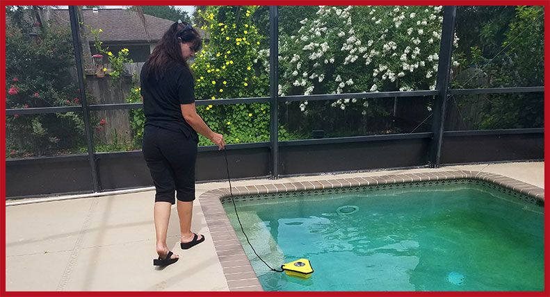 Testing for Stray Voltage in Pool