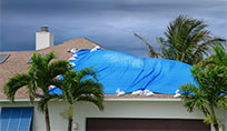 Florida home in need of a storm damage verification inspection